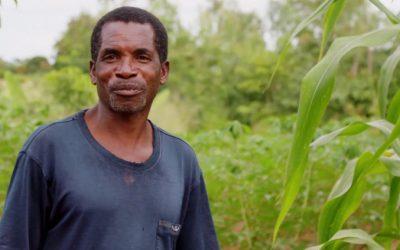 100 gezinnen trainen in duurzame landbouw